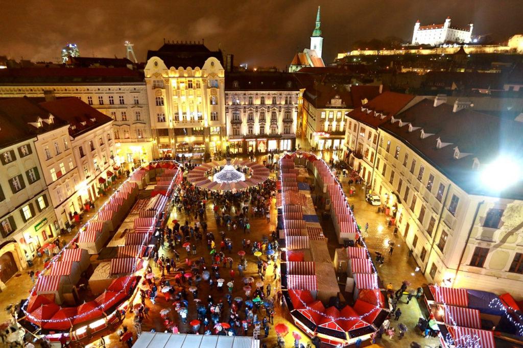 Jedny z nejkrásnějších trhů na Slovensku jsou ty bratislavské.