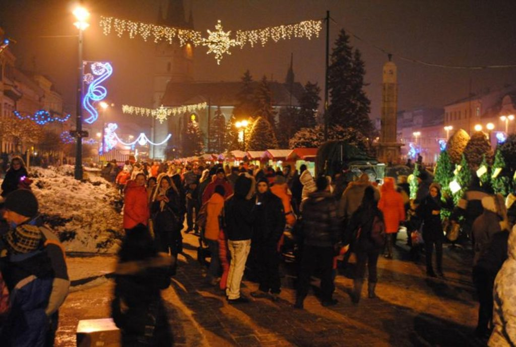 Vánoční jarmark v Prešove.
