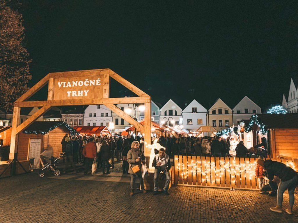 Vánoční trhy v Žilině patří mezi nejnavštěvovanější na Slovensku.