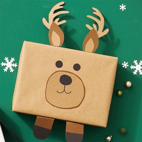 Roztomilá zvířátka jako metoda balení dárečků.