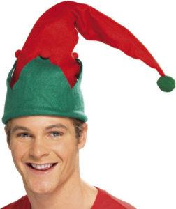 Elfí čapka na dětská představení.