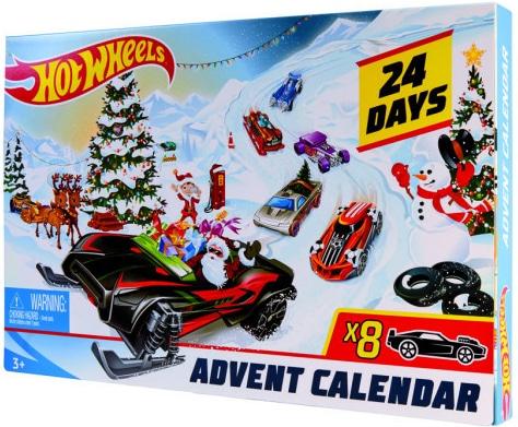 Předvánoční kalendář k odpočtu zbývajících dnů do Štědrého dne pro děti.