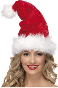Líbí se vám tato vánoční čepka ve stylu Santa.