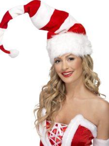 Kouzlo Vánoc navodíte i touto pruhovanou čapkou.