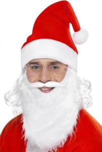 Kostým Santy Clause jako skvělý vánoční doplněk.