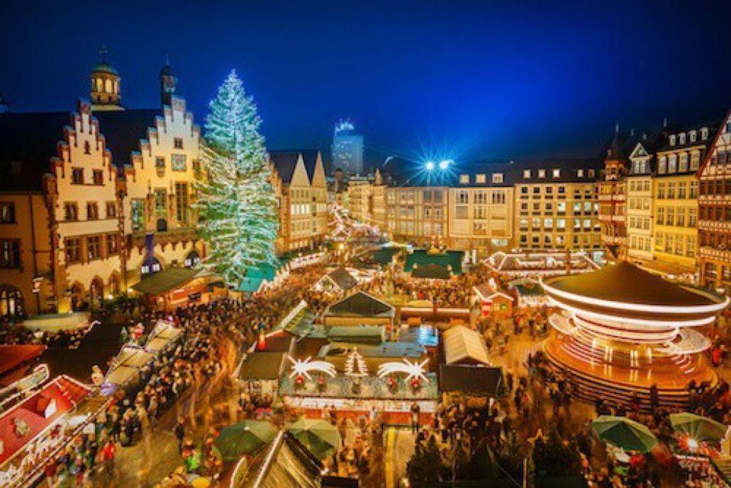 Krása vánočních trhů v německém Norimberku.