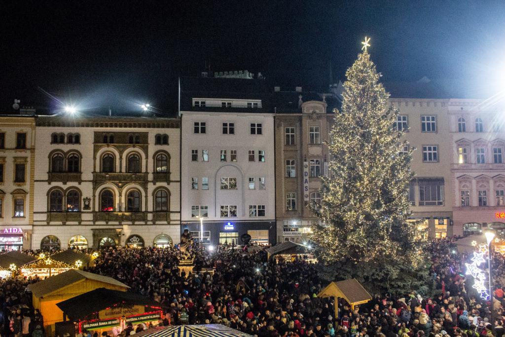 Vánoční trhy v Olomouci zajisté patří k těm nejoblíbenějším.