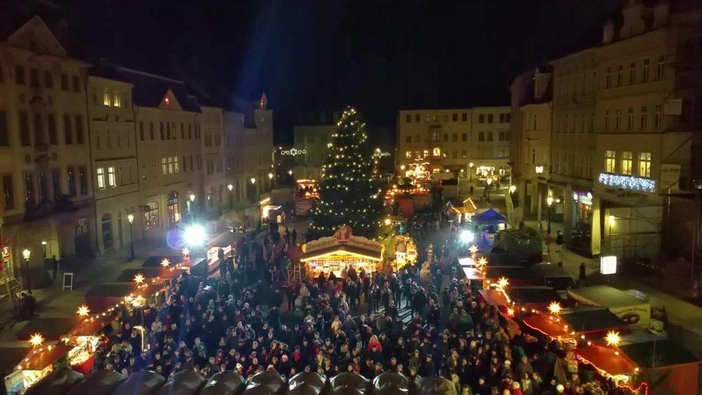 Kouzlo vánočního jarmarku v Žitavě.