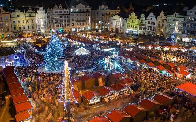 Vánoční Plzeň má neodolatelné kouzlo.