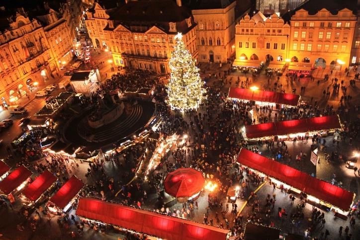 Pražský jarmark - v covid situaci nebude honosný.