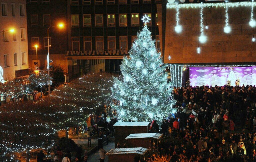 Vánoční slavnosti v Ústí nad Labem z předešlých let.