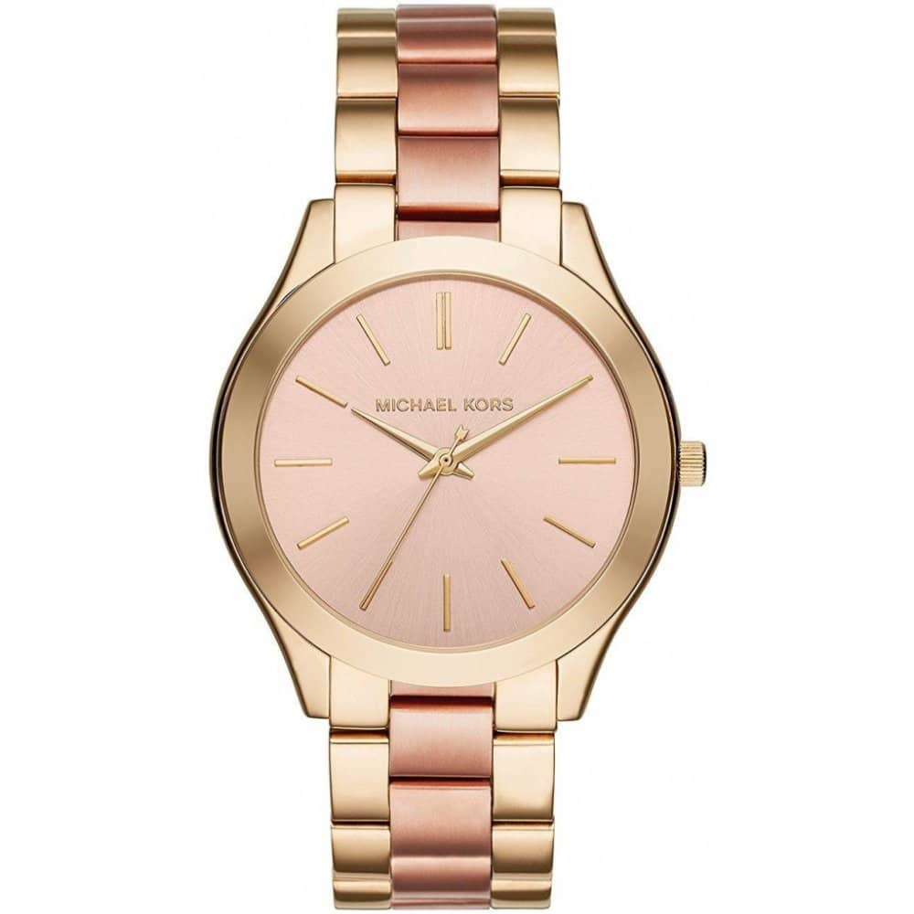 Starorůžové hodinky pro dámy k Vánocům.