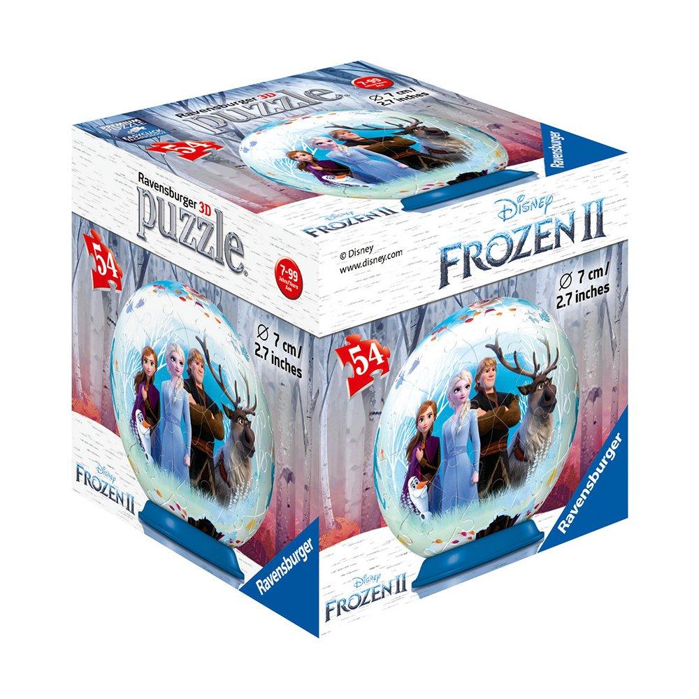 Puzzle ve 3D s Ledovým královstvím.