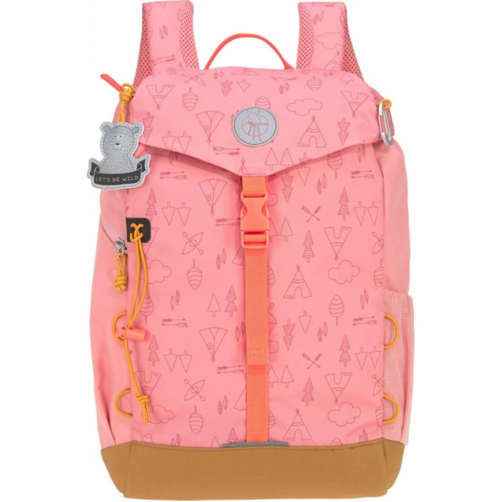 Outdoorový batůžek pro malé cestovatelky.