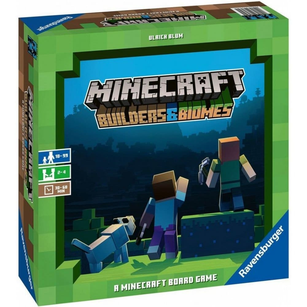 Společenská hra Minecraft.