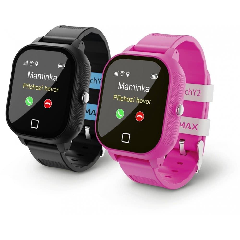 Chytré hodinky s GPS.