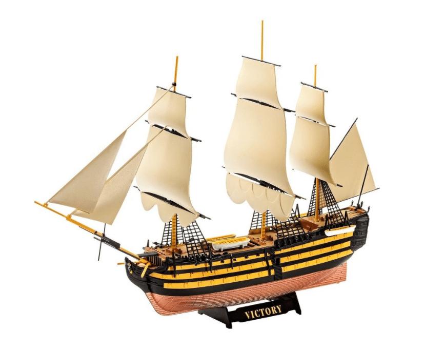 Revell model set ship 65819 HMS Victory 1:450