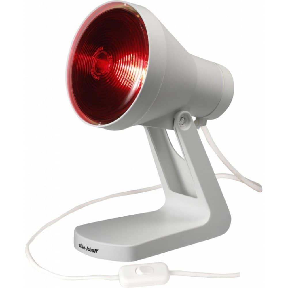 Lampa s infračerveným světlem.
