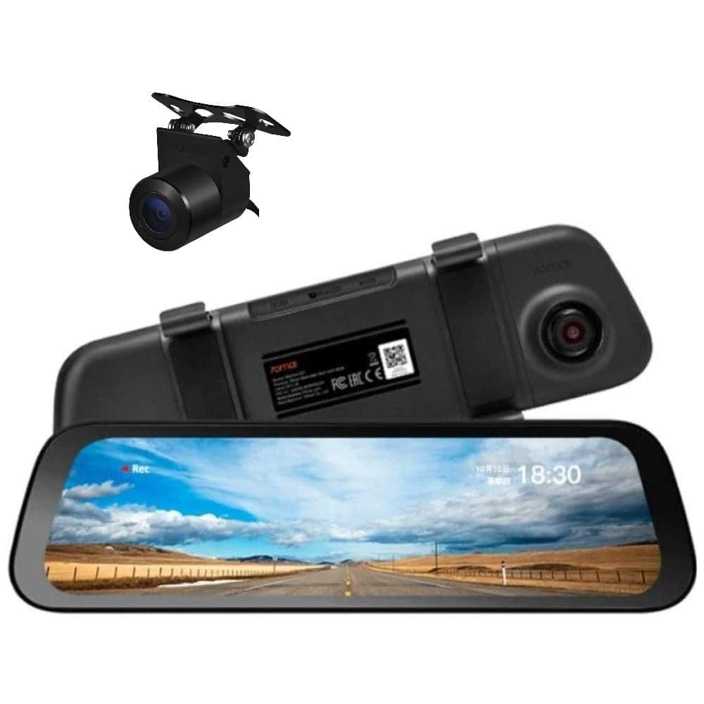 Kamera do auta s chytrými funkcemi.