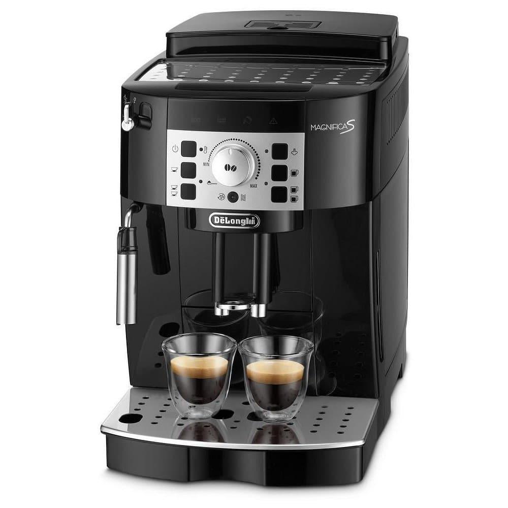 Automatický kávovar DeLonghi.