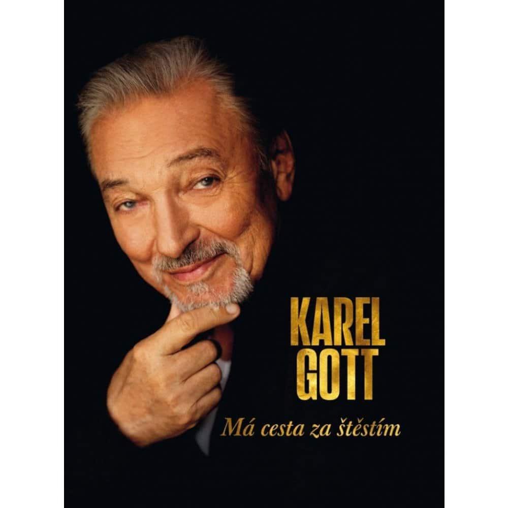 Životopisná kniha Karel Gott.