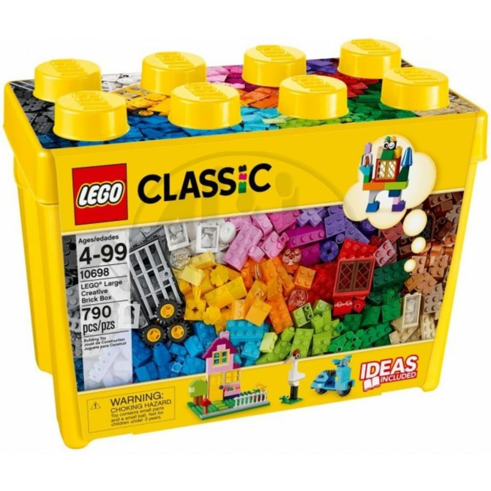Stavebnice Lego ve velkém balení.