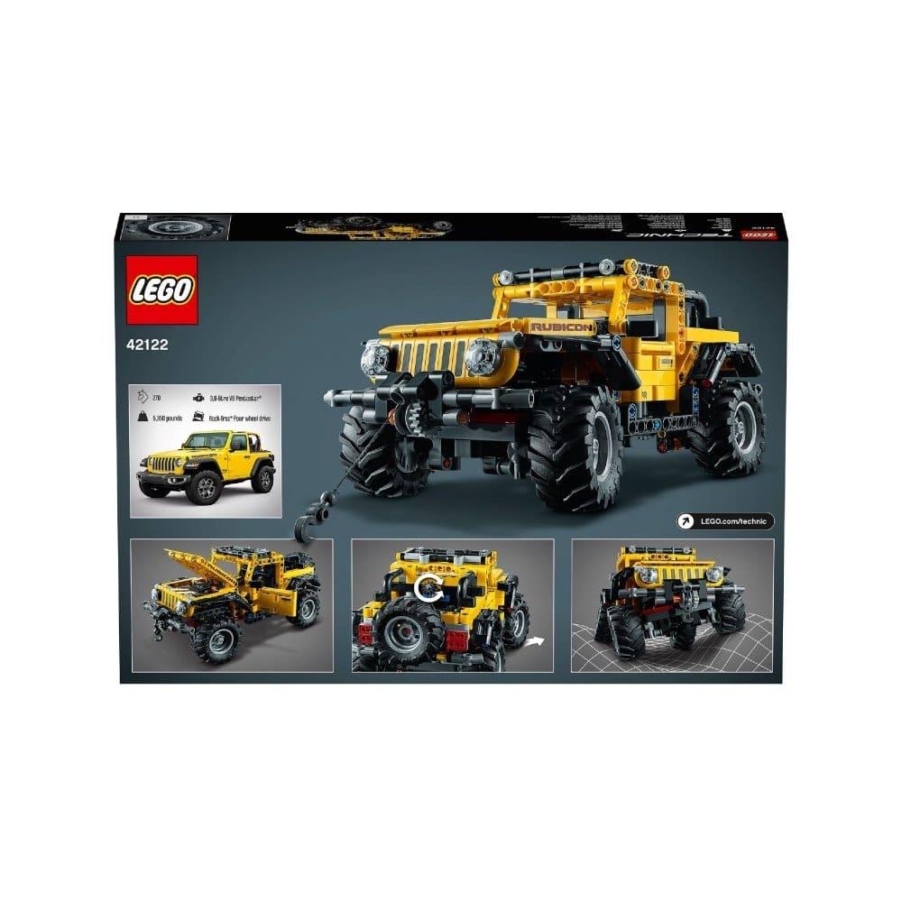 Lego stavebnice s Jeepem.