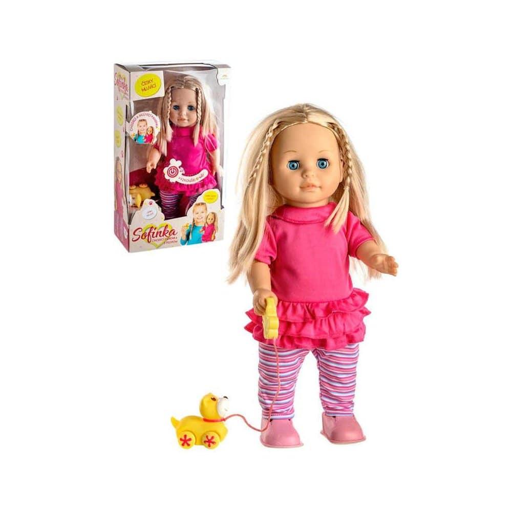 Chodící panenka Sofinka.