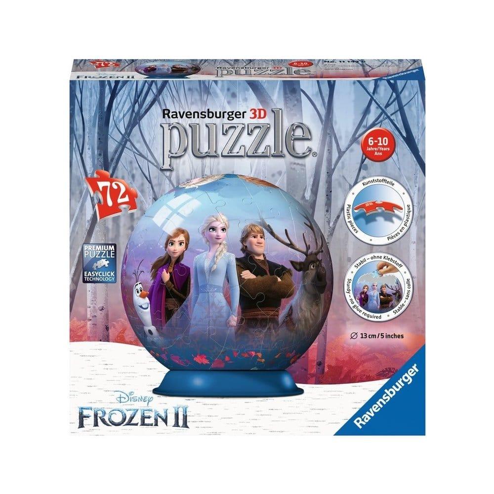 Koule z puzzle pro malé holčičky.