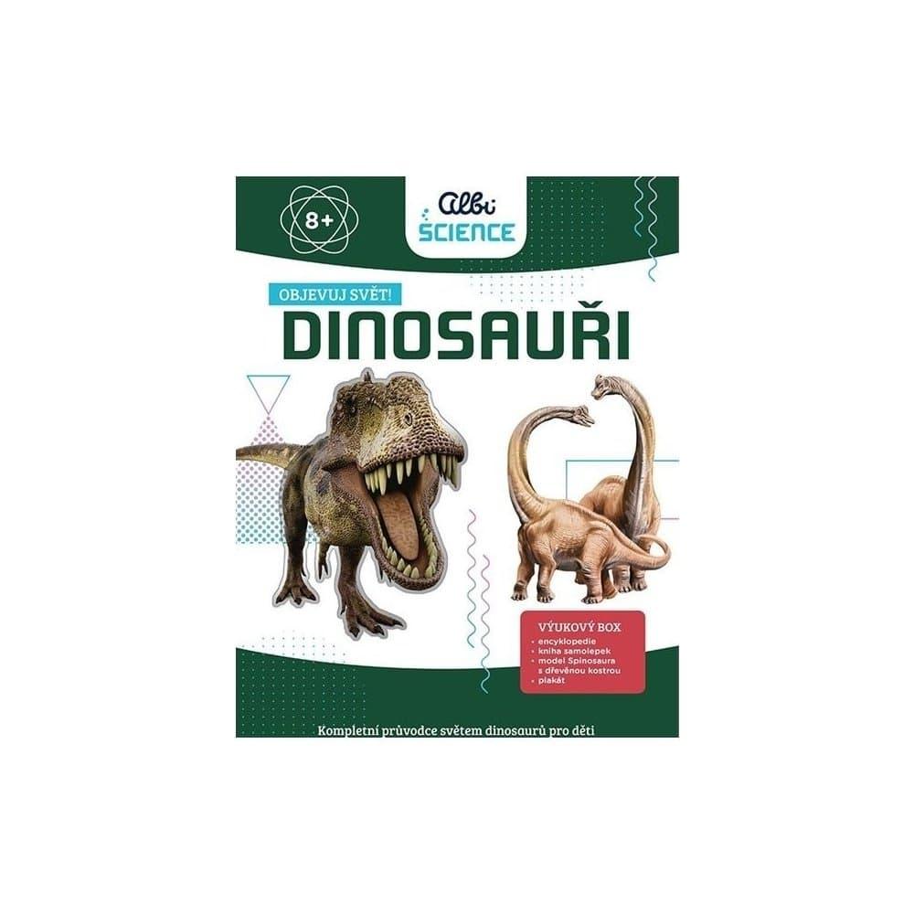 Výuková sada o dinosaurech.