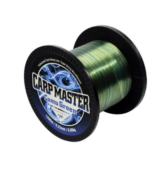 Vlasec Giants Fishing Carp Master camo Green 1200m 0,30mm