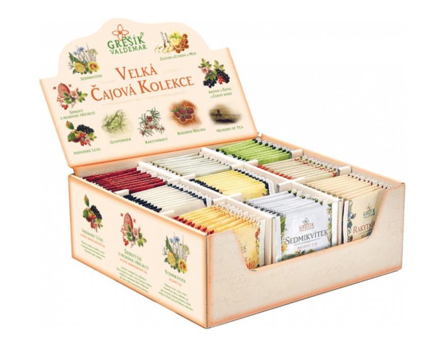 Grešík Velká čajová kolekce 9 x 10 ks