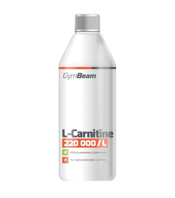 Spalovač tuků GymBeam L-Carnitine 500 ml