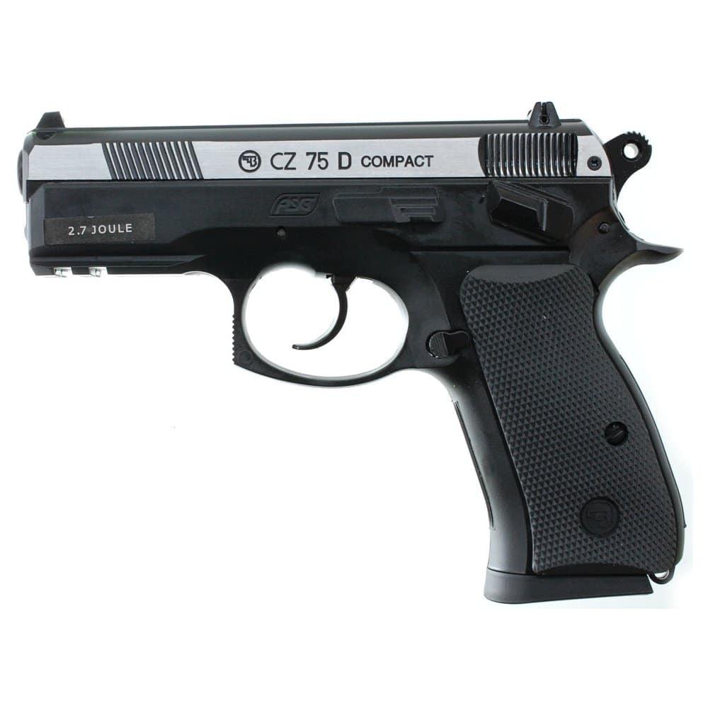 Manuální airsoftová pistole.