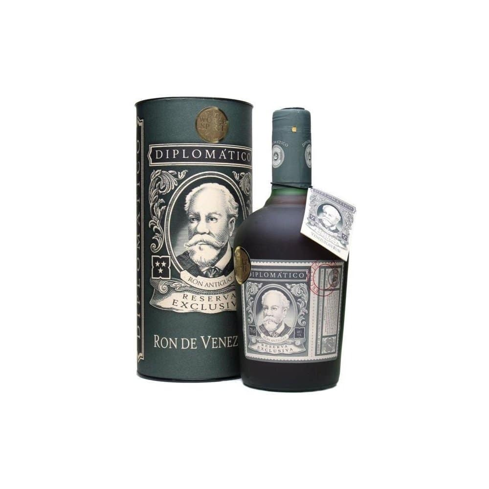 Dimplomatico rum v dárkovém balení.