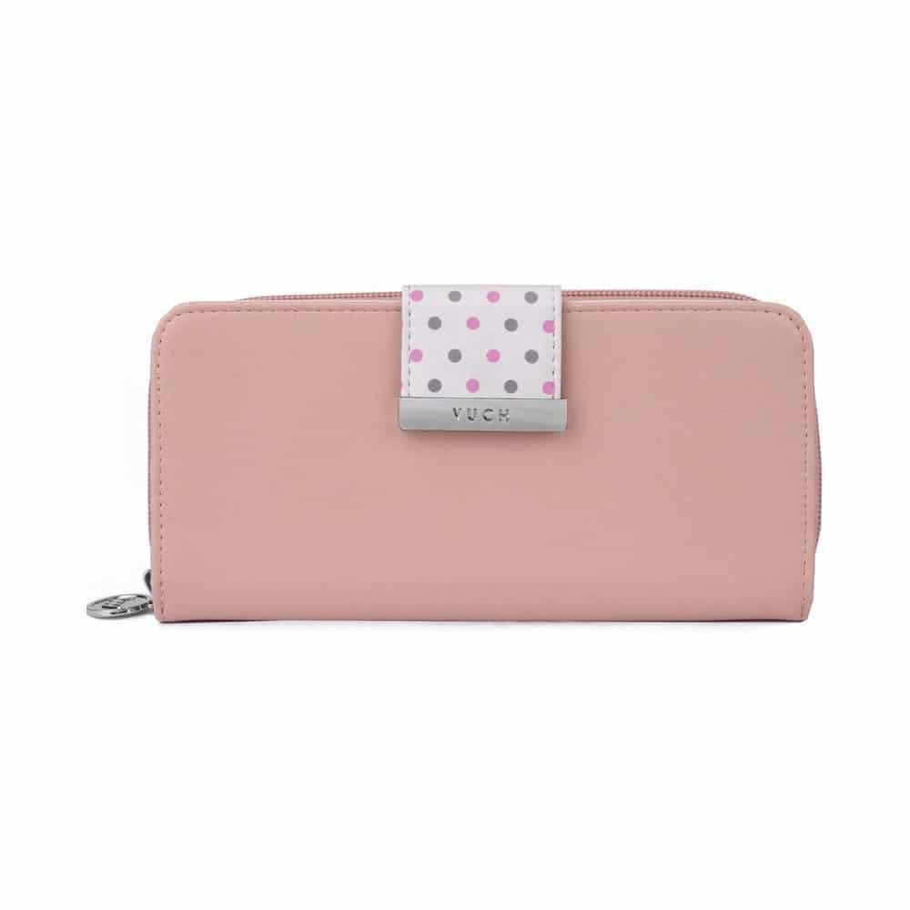Dámská růžová peněženka značky Vuch.