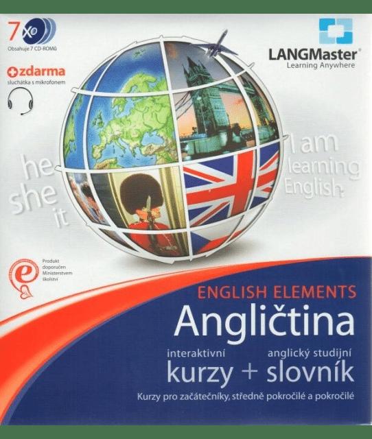 Lekce anglického jazyka s lexikonem.