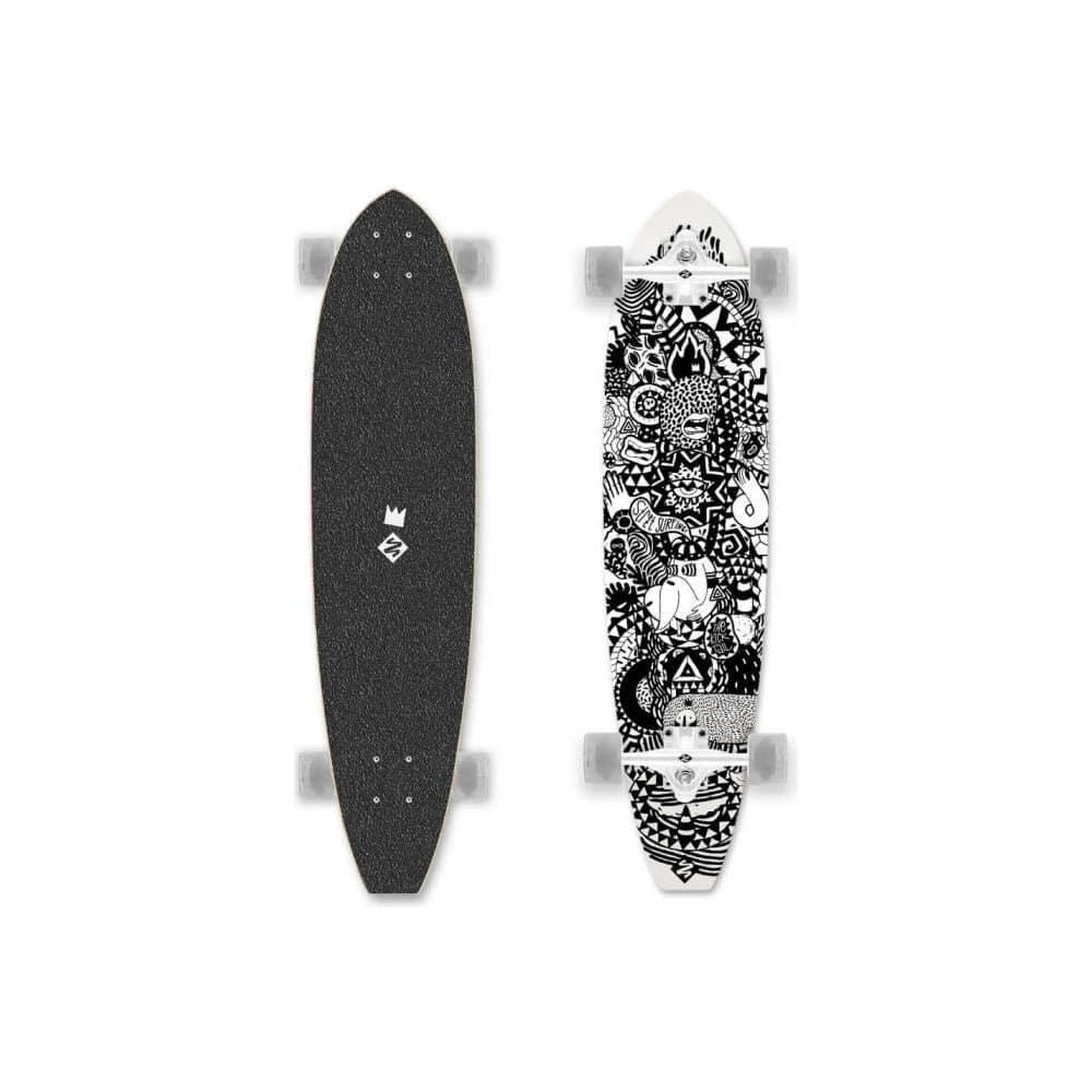 Longboard kicktail pro holky i pro kluky.
